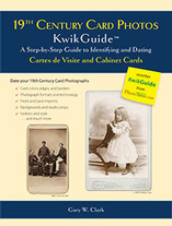 Guide to Identifying and Dating Cartes de Visite and Cabinet Cards